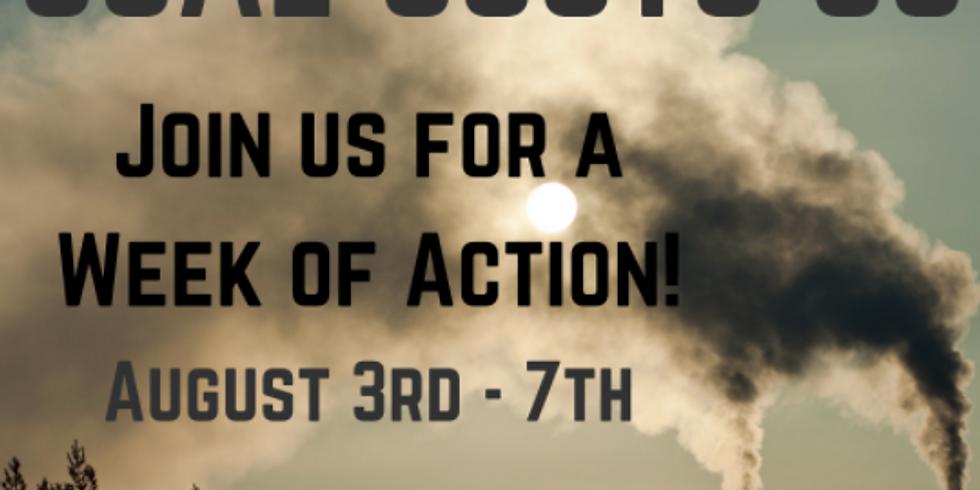 Coal Costs Us Week of Action