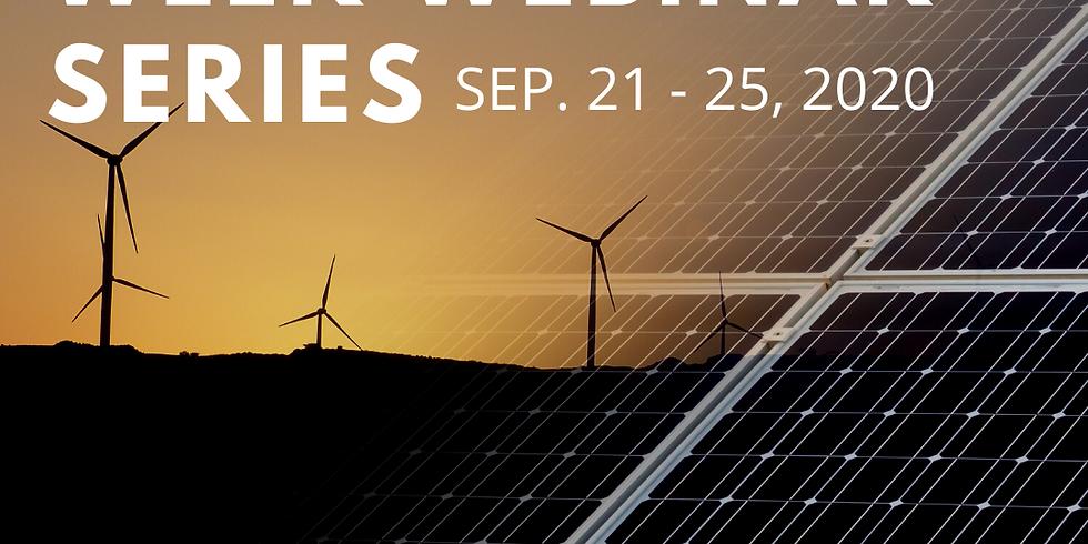Clean Energy Week Webinar Series