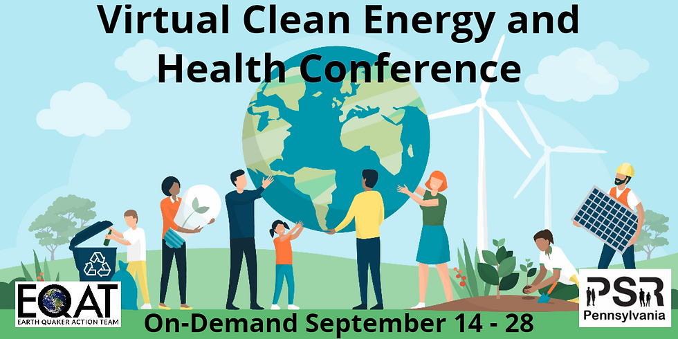 Virtual Clean Energy & Health Conference