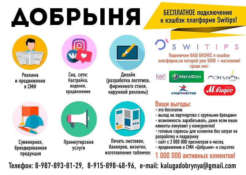 а5 реклама услуг Добрыня.jpg