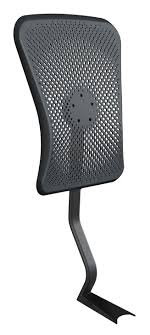 Aeris Attachable Back rest for Swopper Chairs with wheels black color