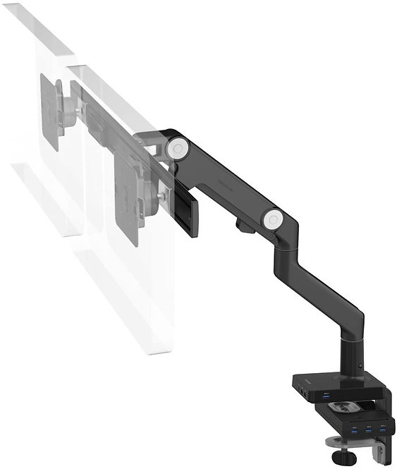 M8 Dual Monitor Arm M/connect - Black