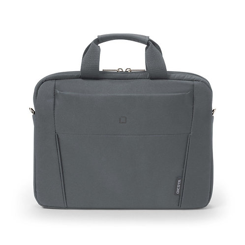 """Dicota Slim Case BASE Carrying Case for 35.8 cm (14.1""""), Notebook - Grey"""