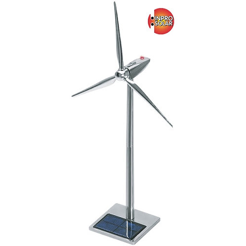 Inpro Solar wind turbine metal round top 50cm 6583