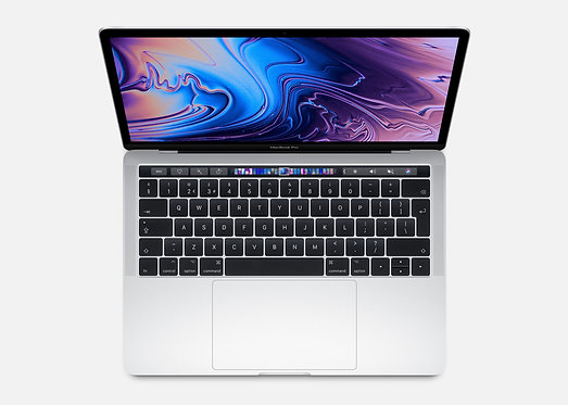13-inch MacBook Pro with Touch Bar: 2.4GHz 512GB - Silver