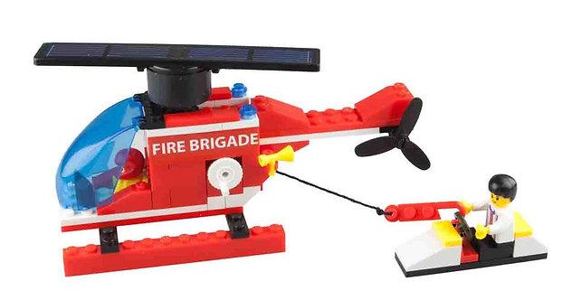 Inprosolar helicopter solar rotor blades red lego kids 6590
