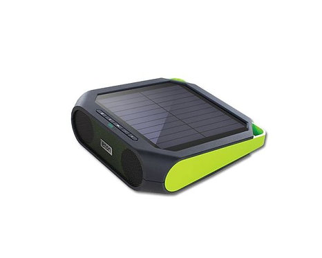 Eton Rugged rukus The solar-powered charging speaker Green