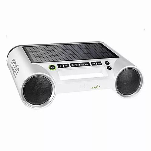 Eton Rukus portable bluetooth solar speaker WHITE