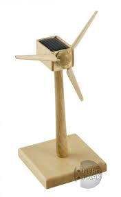 Inpro Solar solar wind generator wood 18 cm 6589