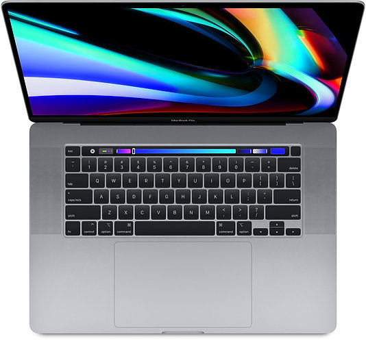 16-inch MacBook Pro with Touch Bar: 2.6GHz 6-core 512GB - Space Grey