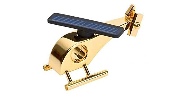 Inpro Solar helicopter solar rotor blades 24k gold