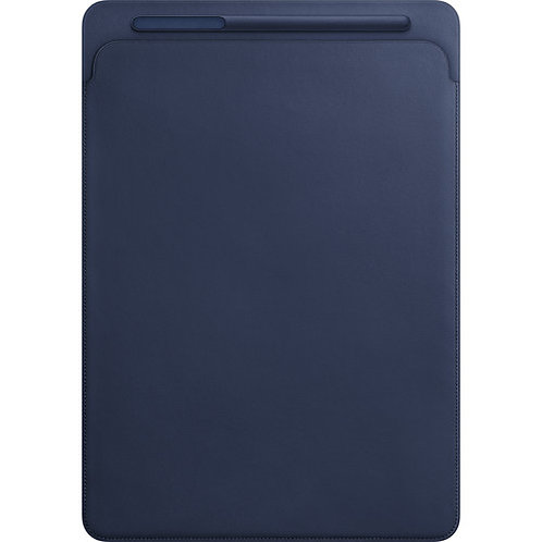 Leather Sleeve for 12.9-inch iPad Pro - Midnight Blue