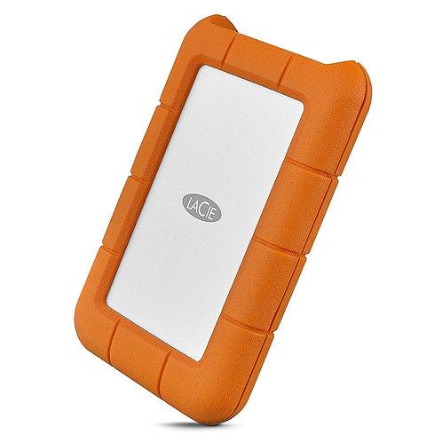LaCie Rugged USB-C 1TB External Hard Drive Portable HDD USB 3.0