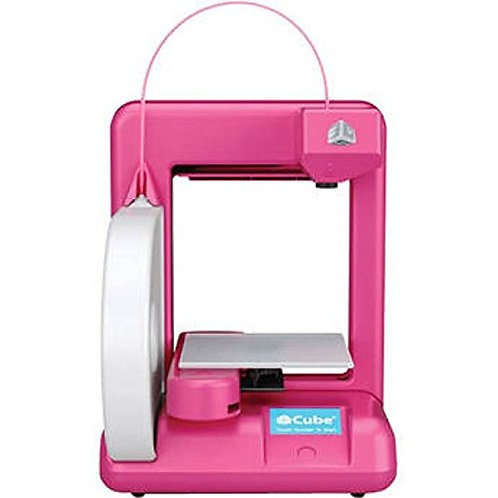 Cube 2nd Generation Magenta color 3D Printer