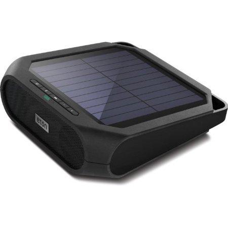 Eton Rugged rukus The solar-powered charging speaker Black