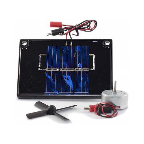 Inpro Solar Cell with Motor and Propeller Educational Toy 9004