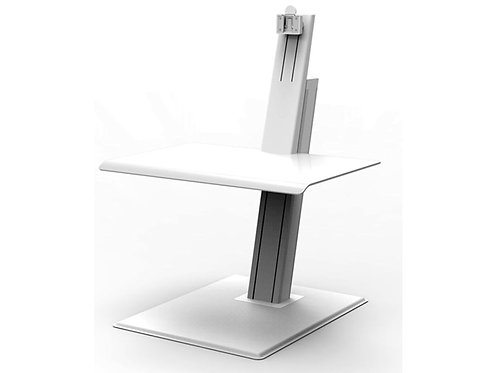 Humanscale - Quickstand Eco - Single Monitor  Computer Stand White QSEWS