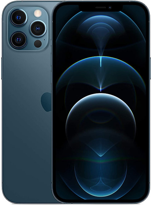 Apple iPhone 12 - 128GB, 6.1-Inch, 5G, Physical DUAL SIM,  Pacific Blue- Intern