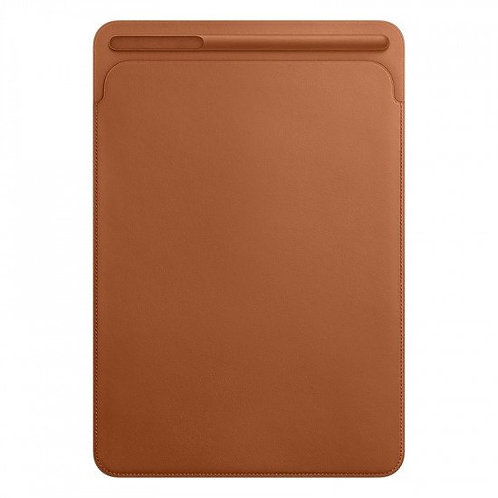 Leather Sleeve for 12.9-inch iPad Pro - Saddle Brown