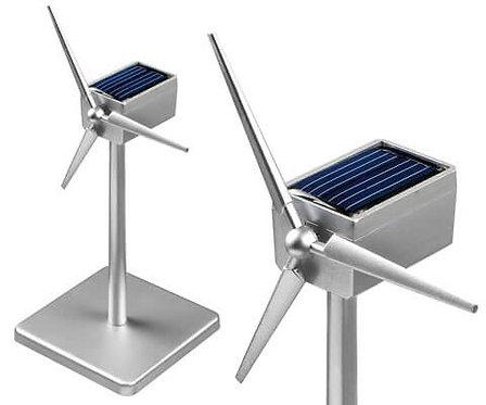 Inpro solar solar wind turbine silver 18 cm 6587
