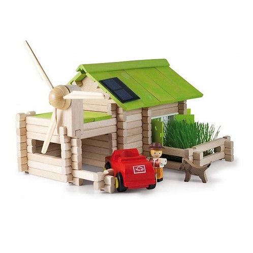 Inpro Solar Log Cabin Educational Toy 3254