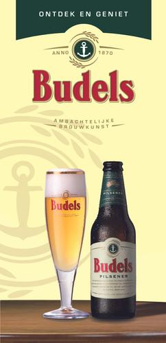 Budels beer advertisement