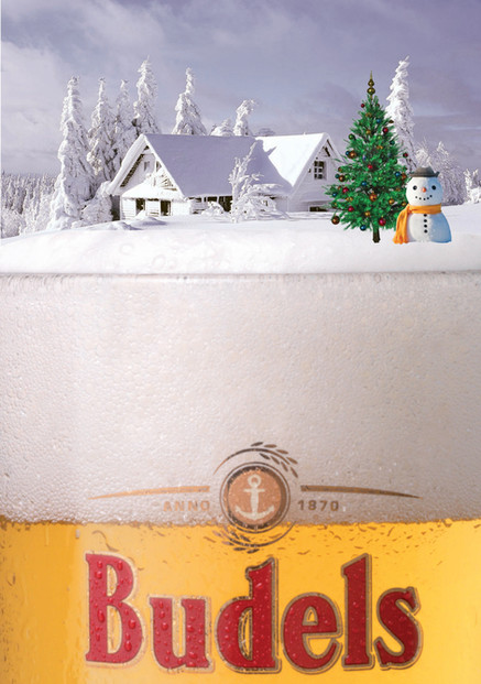 Budels Brewery christmas card
