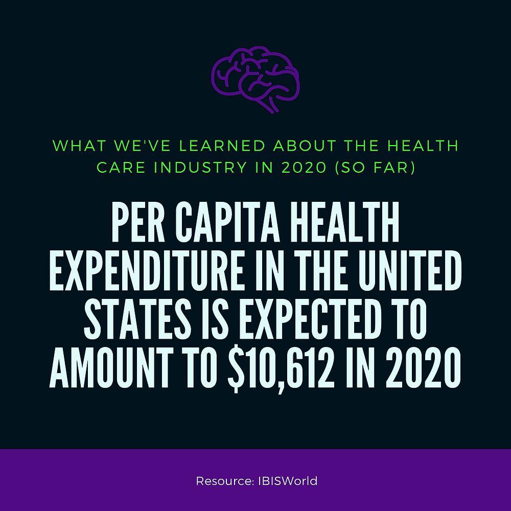 Per Capita Health Expenditure in the United States is Higher Than Other Countries IBISWorld
