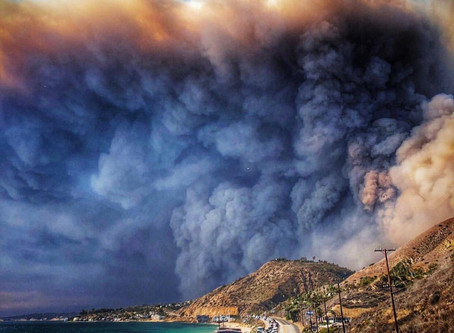 The Dystopian Future of Malibu Wildfires