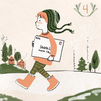 #illo_advent Day 4_ Nothing will bring d