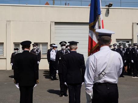Cérémonie d'installation du Directeur Départemental de la Sécurité Publique de Seine-et-Marne