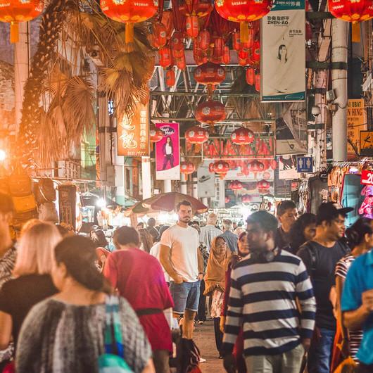 Night Market Chinatown
