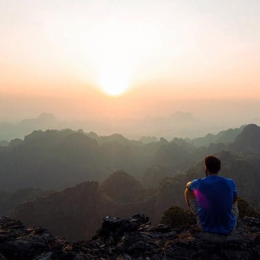 Sonnenaufgänge auf dem Berg erleben