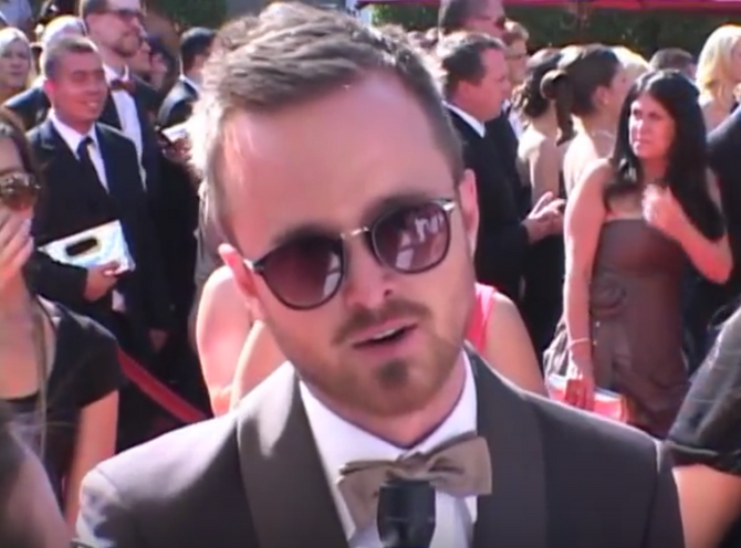 ON THE RED CARPET: The Cast of Breaking Bad at the Emmys