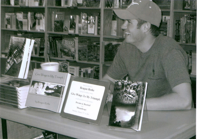 Reagan Rothe and Black Rose Writing Publish One Type of Books — Good Ones