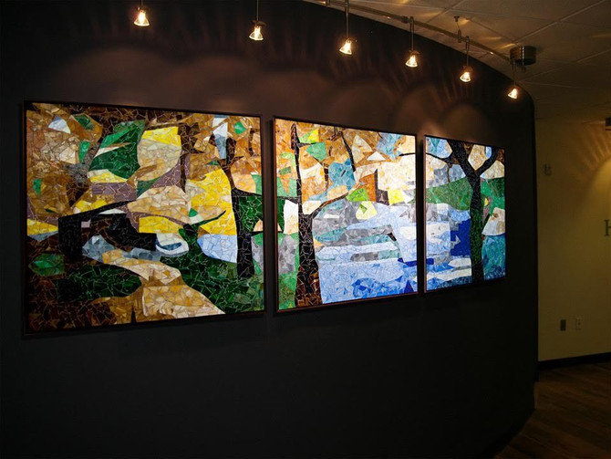 Jonathan Brown Delivers Modern Mosaics on a Grand Scale