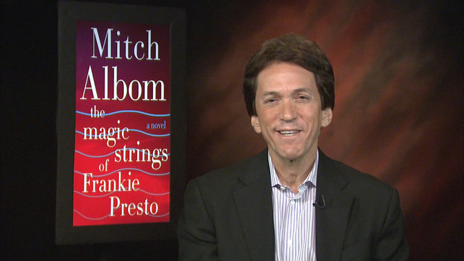 "Mitch Albom Realizes His Dreams of Rock Stardom With ""Frankie Presto"""