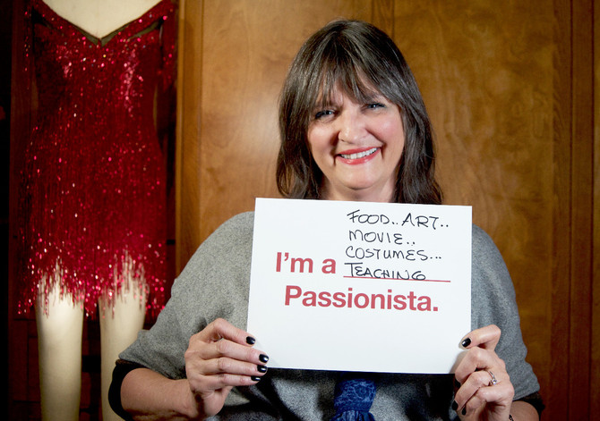 Passionista Terry Ann Gordon —  Costume Designer for Rita, Reba and Fran