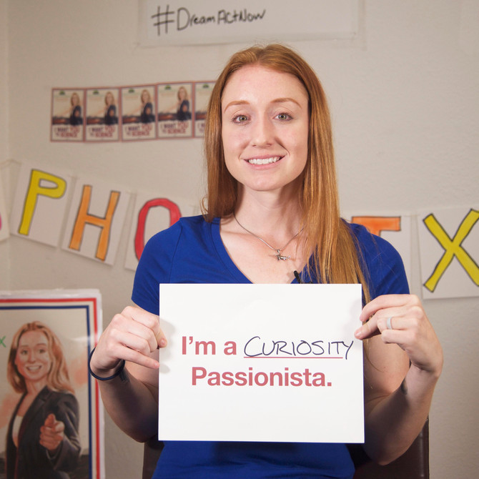Passionista Jess Phoenix — Vote for Curiosity, Science and Passion