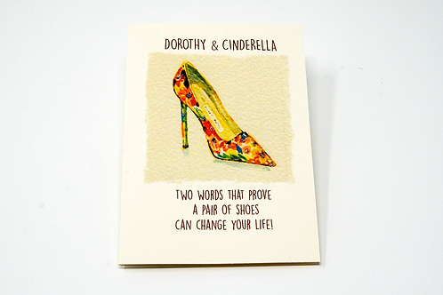 Dorothy and Cinderella Card