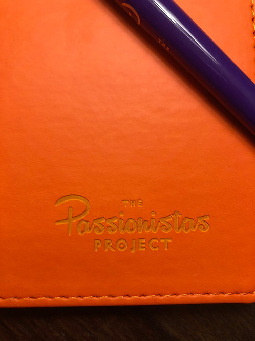 The Passionistas Project Leatherette Journal
