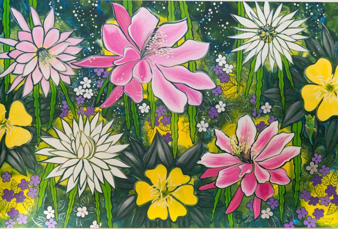 "Sue Paterson's Artwork Is ""Bursting into Life"""