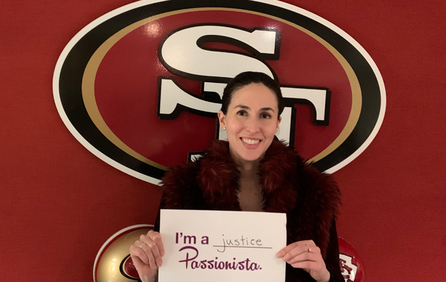 Hannah Gordon Brings Her Passion for People to the NFL and the San Francisco 49ers