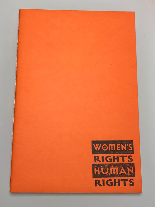 Women's Rights = Human Right's Notebook