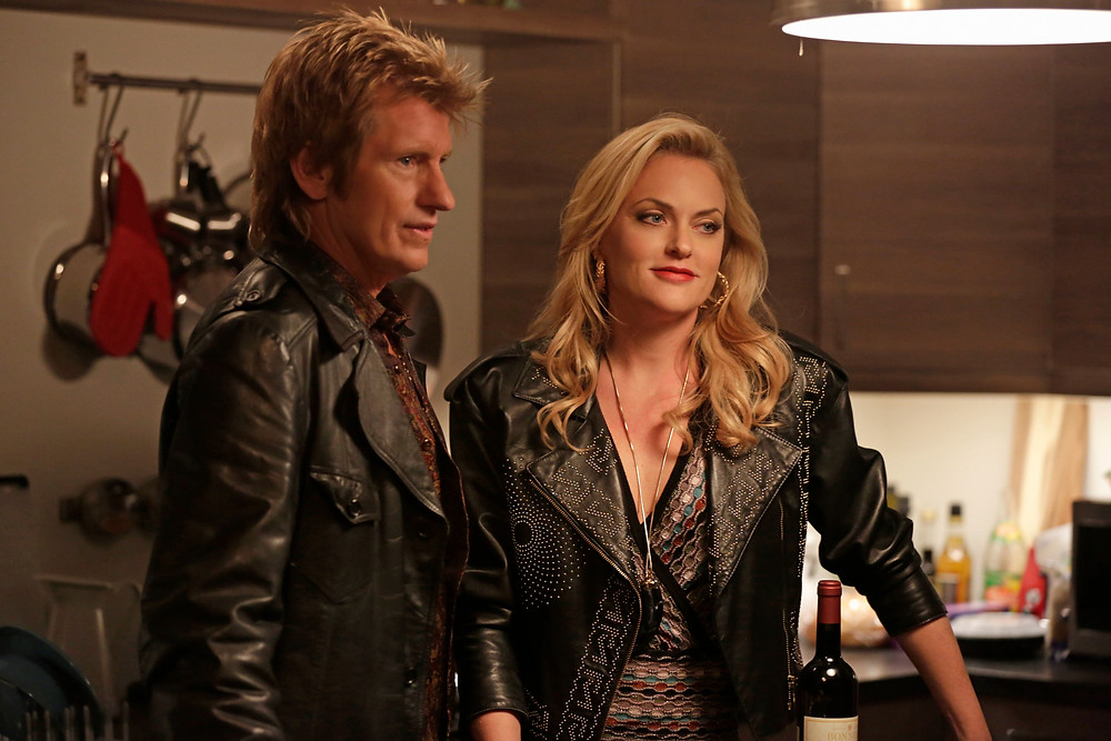Denis Leary and Elaine Hendrix from Sex&Drugs&Rock&Roll