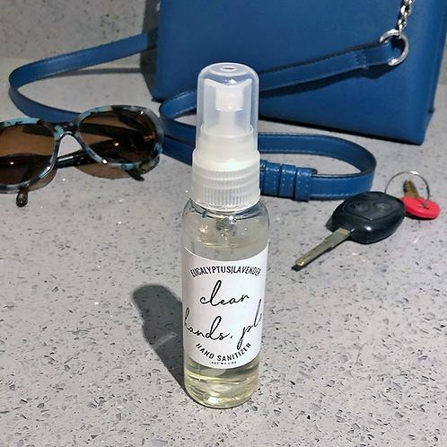 Moisturizing Hand Sanitizer Spray by Chanvre Naturals