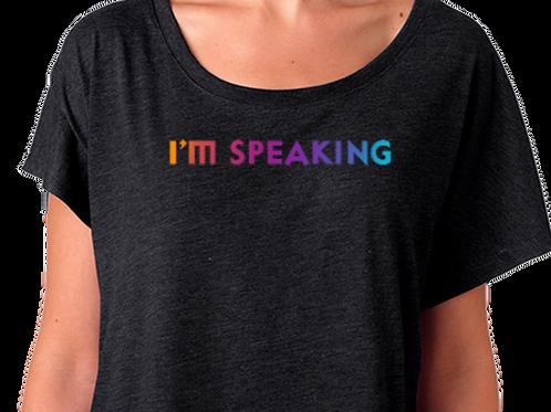 I'm Speaking Color Women's Tee