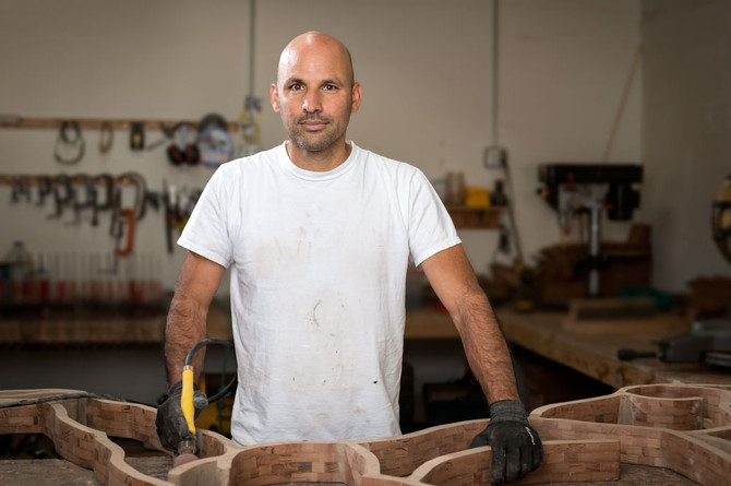 Nick Lopez Turns Reclaimed Wood into Works of Art