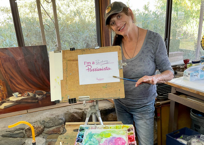 Lorelle Miller: I'm a Painting Passionista