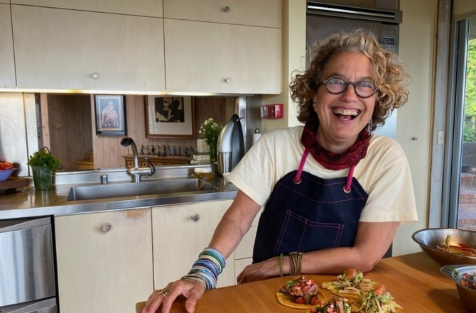 BUCKET LIST: Eat dinner prepared at home by a celebrity chef